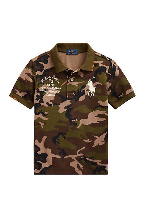 Ralph Lauren Childrenswear Toddler Boys Big Pony Camo