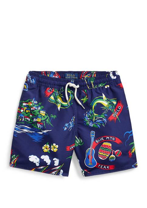 Ralph Lauren Childrenswear Toddler Boys Captiva Tropical Swim