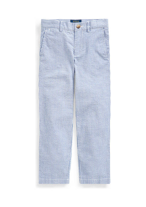 Ralph Lauren Childrenswear Toddler Boys Stretch Seersucker Skinny