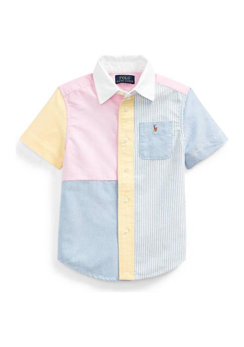 Ralph Lauren Childrenswear Toddler Boys Cotton Oxford Fun