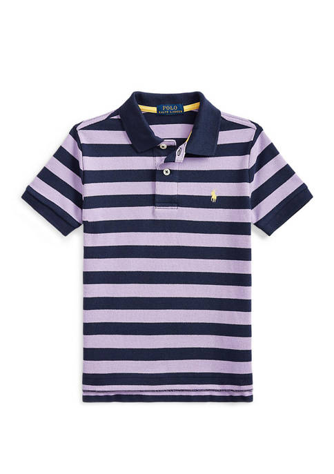 Ralph Lauren Childrenswear Toddler Boys Cotton Mesh Polo