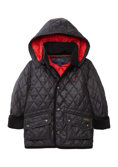 Ralph Lauren Childrenswear Toddler Boys Quilted Jacket