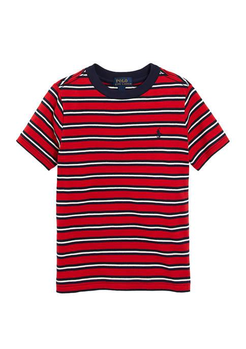 Ralph Lauren Childrenswear Toddler Boys Stripe Cotton Jersey