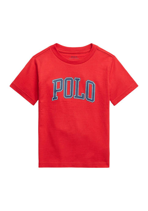 Ralph Lauren Childrenswear Toddler Boys Logo Cotton Jersey