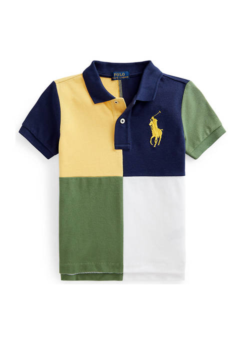 Ralph Lauren Childrenswear Toddler Boys Big Pony Cotton