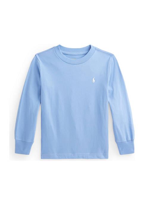 Ralph Lauren Childrenswear Toddler Boys Cotton Jersey Long-Sleeve