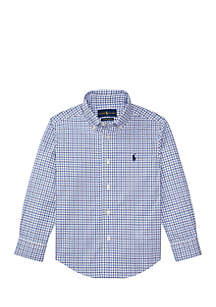 Boys 4-7 Cotton Poplin Sport Shirt