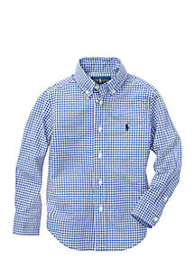 Ralph Lauren Childrenswear Boys 4-7 Cotton Poplin Sport Shirt