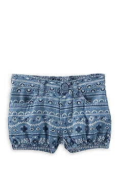 OshKosh B'gosh® Bandana Print Chambray Bubble Short