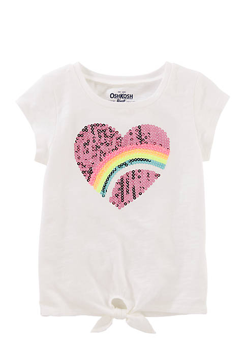 OshKosh B'gosh® Toddler Girls Front Tie Tee