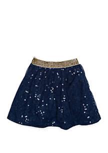 OshKosh B'gosh® Toddler Girls Tulle Sequin Skirt