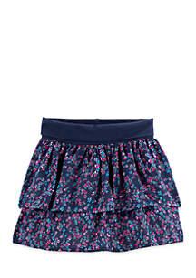 Toddler Girls Double Layer Skirt