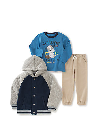 Kids Headquarters Boys 3 Pieces Pants Set