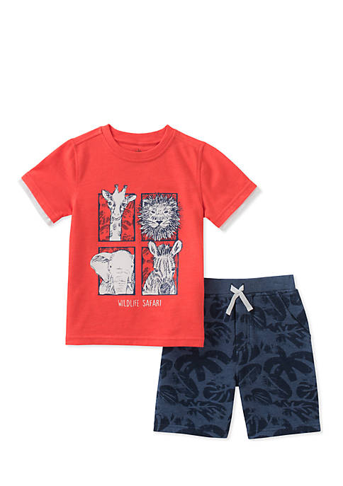 Kids Headquarters 2-Piece Wildlife Safari Set infant Boys