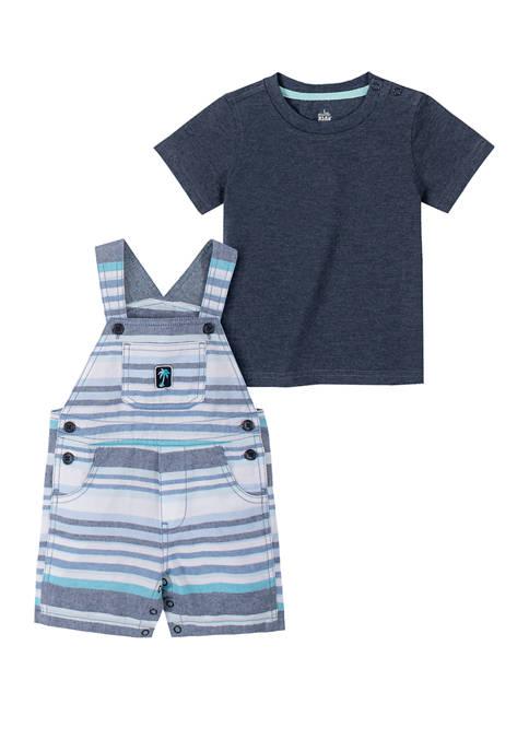 Baby Boys Oxford Stripe Set