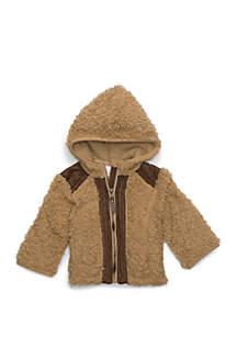 Baby Girls Sherpa Jacket