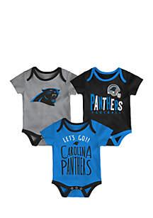 Baby Boy Little Tailgater Carolina Panthers Bodysuit Set