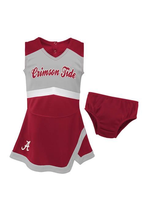 Baby Girls NCAA Alabama Crimson Tide Cheer Dress