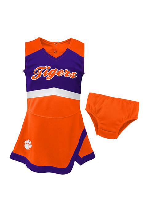 Gen2 Baby Girls NCAA Clemson Tigers Cheer Jumper
