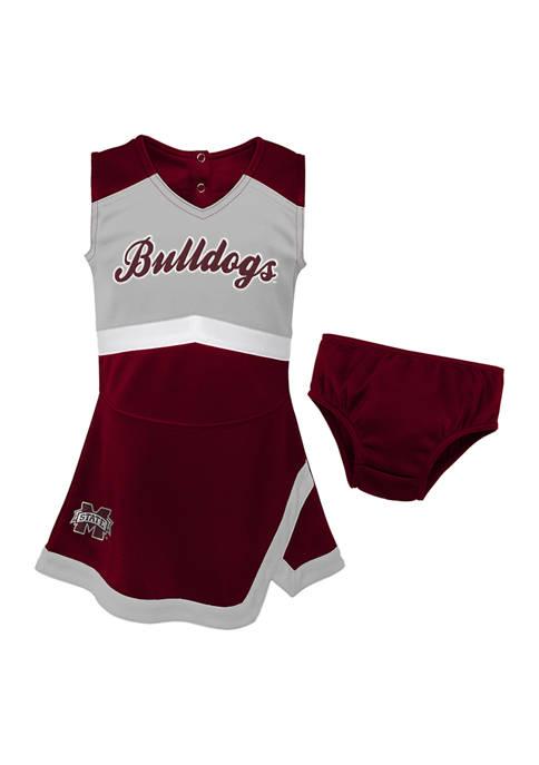 Toddler Girls NCAA Mississippi State Bulldogs Cheer Dress