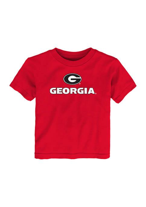Baby/Toddler Boys NCAA Georgia Bulldogs Primary Logo T-Shirt