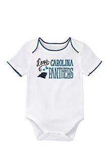 Baby Girl Carolina Panthers Bodysuit and Tutu Set