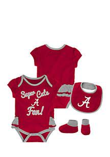 Baby Girl University of Alabama Bodysuit Set