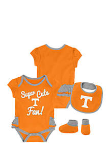 Baby Girl University of Tennessee Bodysuit Set