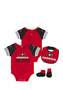 Baby Boy University of Georgia Bodysuit Set