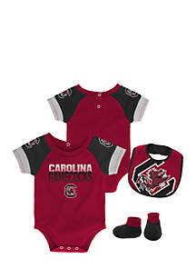 Baby Boy University of South Carolina Bodysuit Set