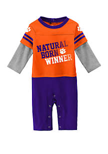 Baby Boys Clemson Tiger Draft Pick Coverall