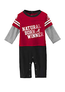 Baby Boys Alabama Crimson Tide Draft Pick Coverall