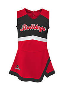 Toddler Girls University of Georgia Cheer Captain Set