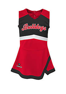 Gen2 Baby Girls Georgia Bulldogs Cheer Captain Dress