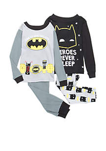 Toddler Boys 4-Piece Batman Set