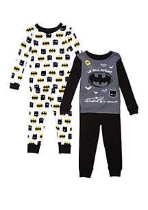 Batman™ Toddler Boys Batman™ 4 Piece Pajama Set