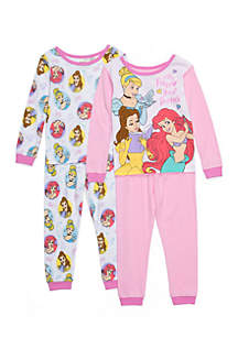 Toddler Girls 4-Piece Princess Set