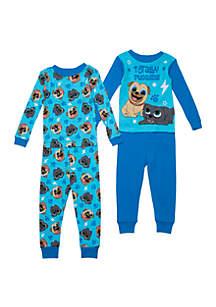 Disney® Junior™ Toddler Boys Puppy Dog Pals 2 Piece Pajama Set