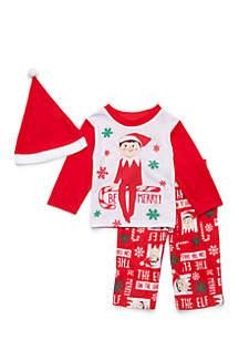 Baby Elf on the Shelf Pajama Set