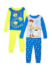 Disney® Pixar™ Toy Story Toddler Boys Toy Story 4 Piece Pajama Set