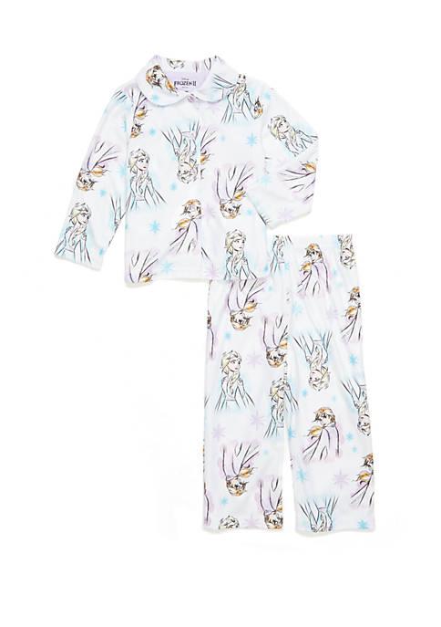 Disney® Frozen Toddler Girls Coat Pajama Set