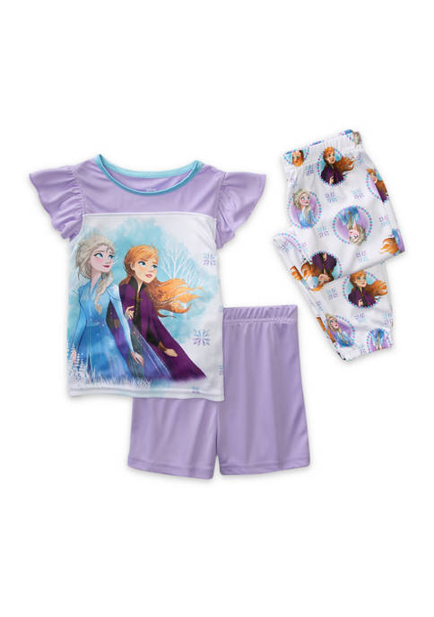 Disney® Frozen Toddler Girls 3 Piece Pajama Set