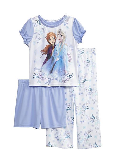 Disney® Frozen Toddler Girls 3 Piece Pajama Set
