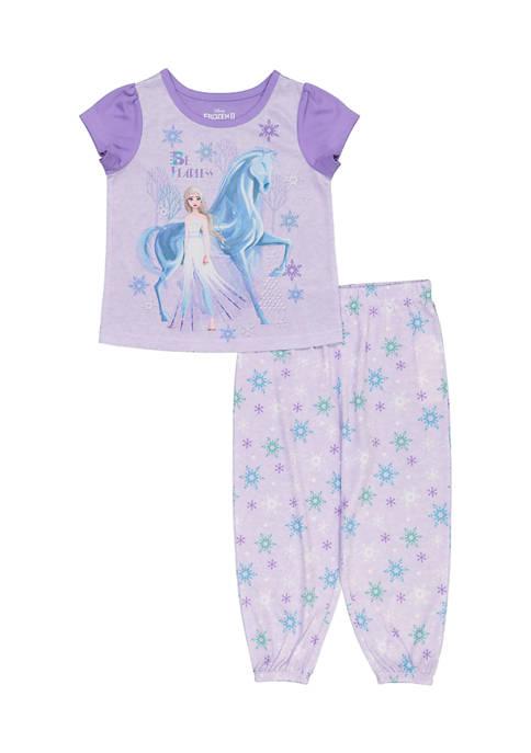 Disney® Frozen Toddler Girls 2 Piece Frozen Pajama