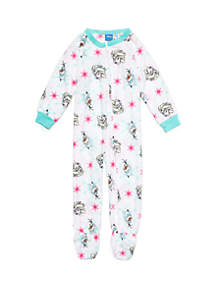 Toddler Girls Frozen Blanket Sleeper