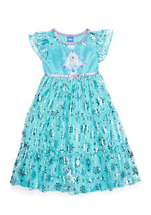 Toddler Girls Frozen Fantasy Night Gown