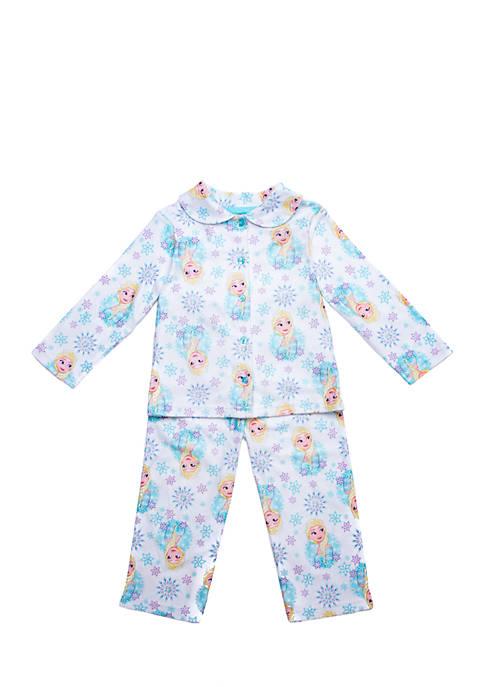 Disney® Toddler Girls Frozen Coat Pajama Set