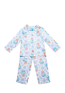 Toddler Girls Frozen Coat Pajama Set