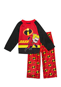 Toddler Boys 2-Piece Dash Incredibles Set
