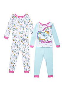 My Little Pony™ Toddler Girls My Little Pony™ 4 Piece Pajama Set